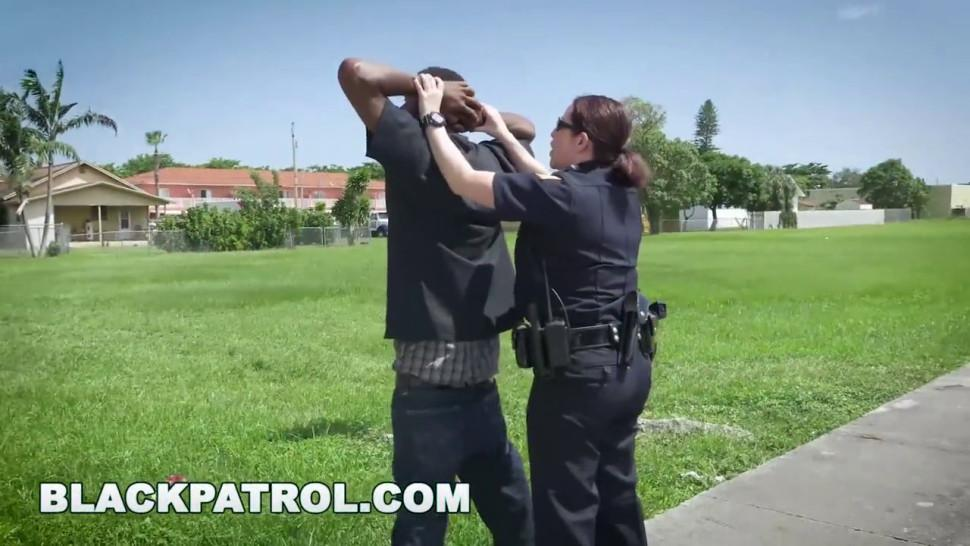 BLACK PATROL - These cracker ass cops always tryin' to keep a black man down