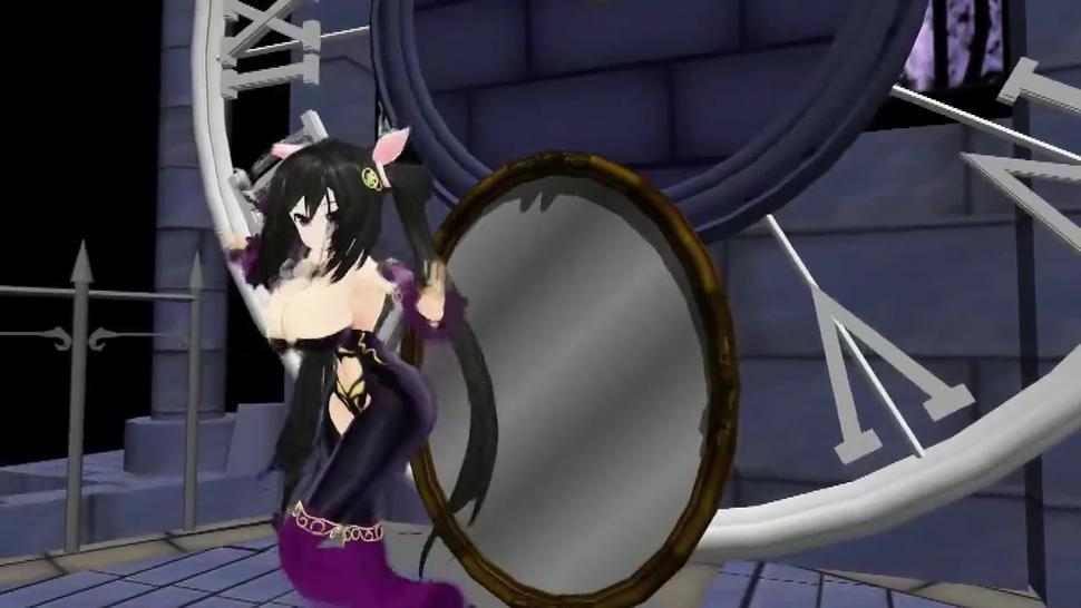 [3D MMD] Ariane Cevaille Reflection Breast Expansion Dance HQ (Rare, Old) by Unknown