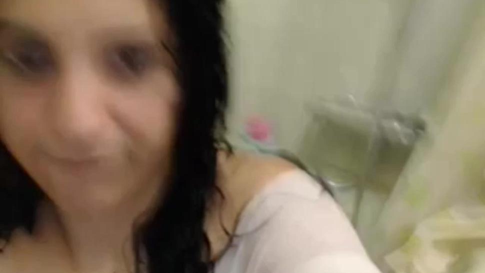 Spanish Brunette Chubby Teen Webcam Showers