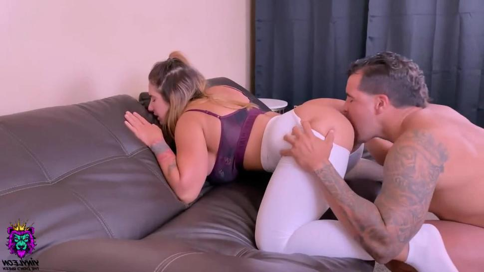 Yoga Instructor Gets Hard Anal From One Of Her Students After Class