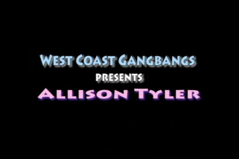 WEST COAST GANGBANGS - Allison Tyler Gangbang