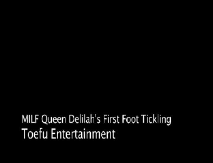 Mature foot tickling