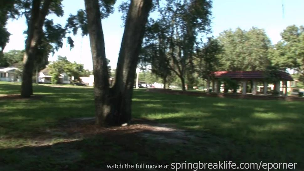 Anal Finger In The Park