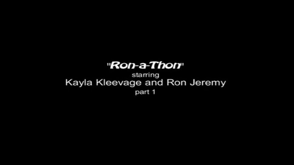 RonaThon starring kayla Kleevage and Ron Jeremy part 1