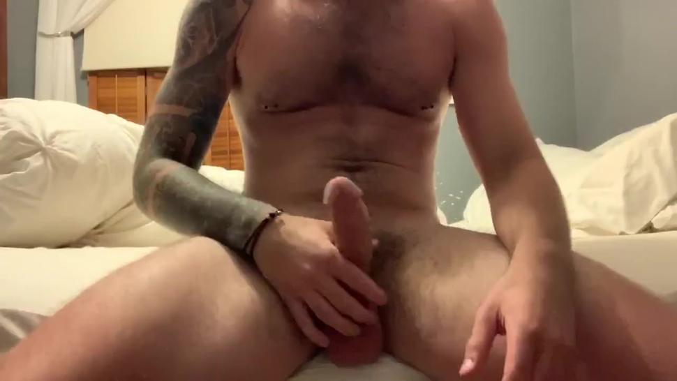 Load Moaning Straight Guy Explodes by Fucking Fleshlight