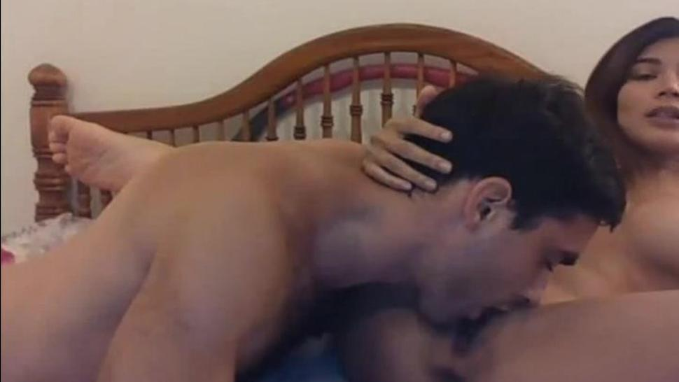 Asian Chick got Pussy Lick Fuck and Creampied
