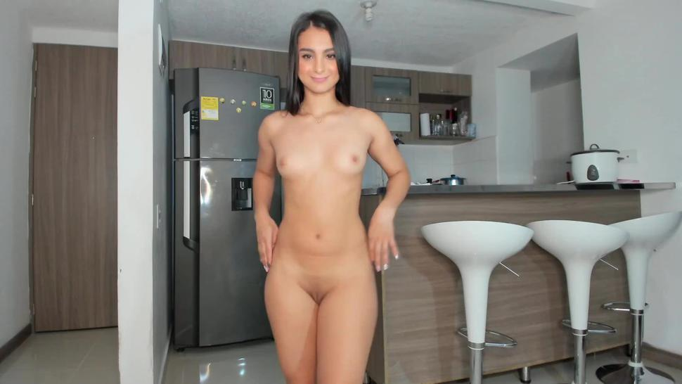 Perfect body girl teasing you naked