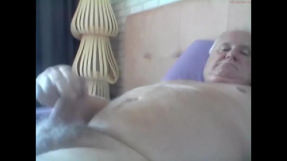 grandpa cum on cam-1
