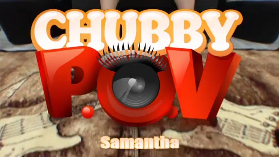 Samantha 38G POV tit screw