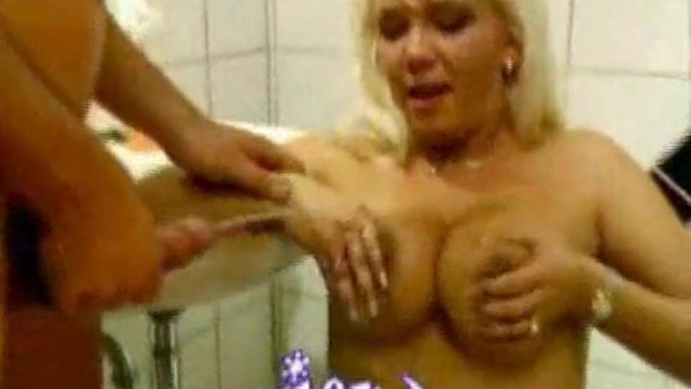 German Pissing Orgy In A Public Bathroom