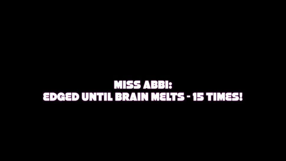 Edged Until Brain Melts - 15 Times! Femdom Handjob, Orgasm Control & Milking - Miss Abbi