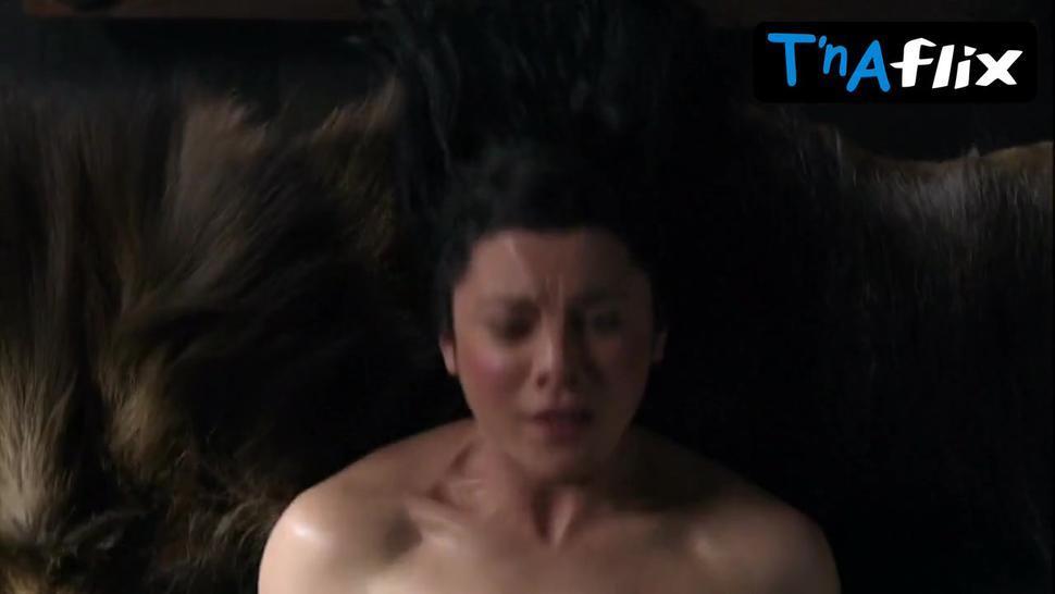 Jessica Grace Smith Breasts,  Bush Scene  in Spartacus: Gods Of The Arena