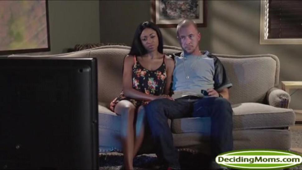 Black Milf Codi Bryant Helps Teen Anya Ivy With A Dick