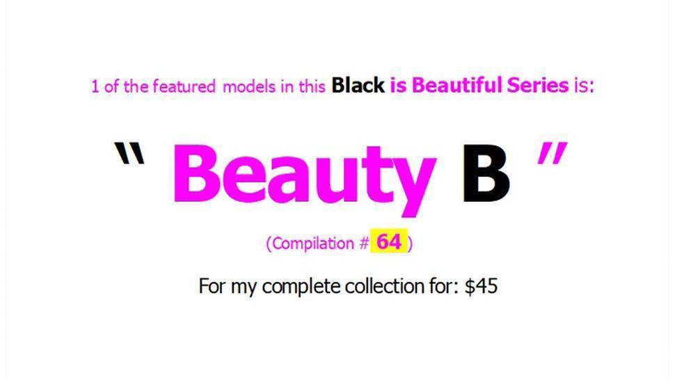 64th Black is Beautiful Web Models (Promo)