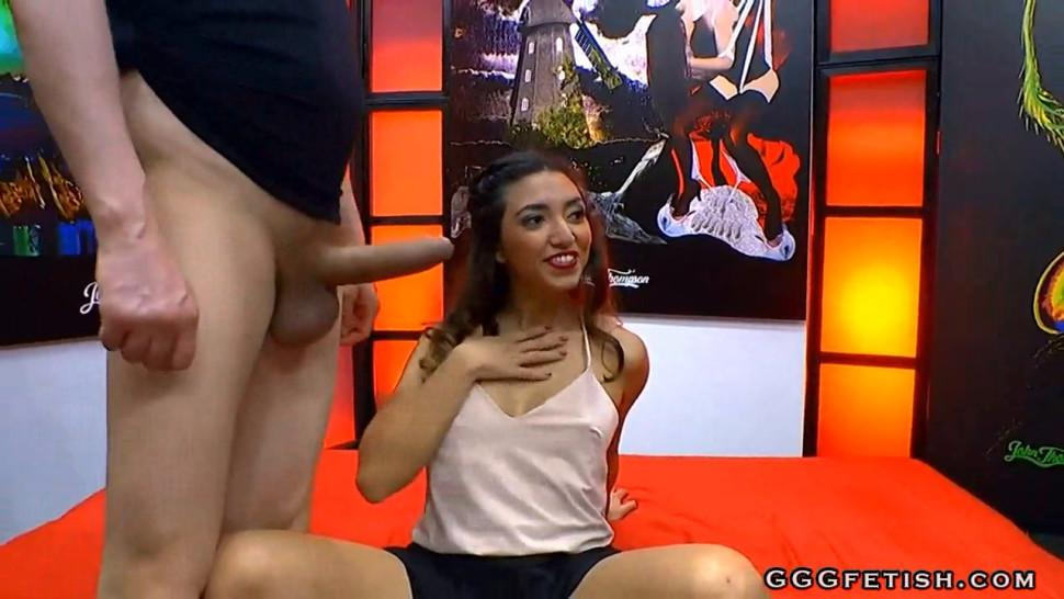 Pounding and banging on mexican bitch frida sante