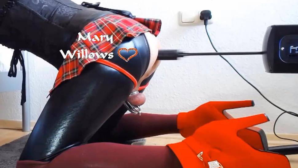 Sissygasm screw machine attempt (old video) - 4 Minute video free on onlyfans