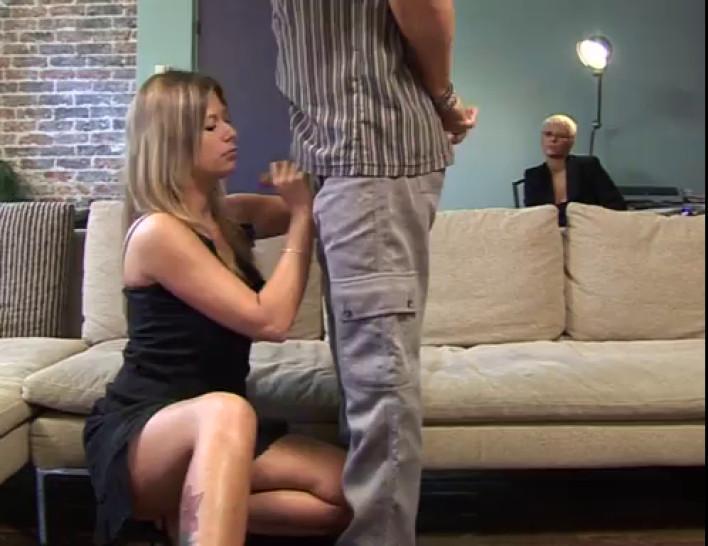 Alyson Ray & Caroline Eden threesome anal & fist fuck