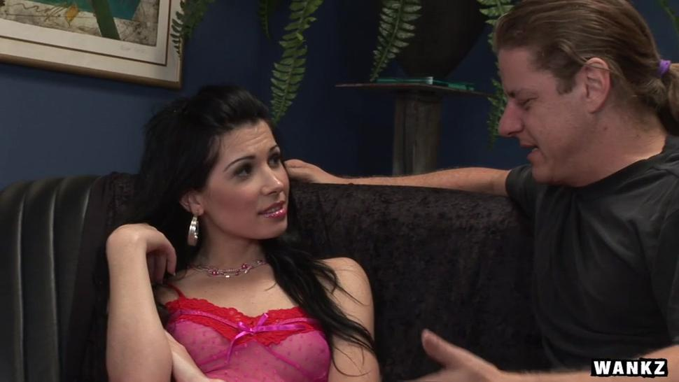 Wankz- Rebecca Linares Takes Dick Anally - Rebeca Linares