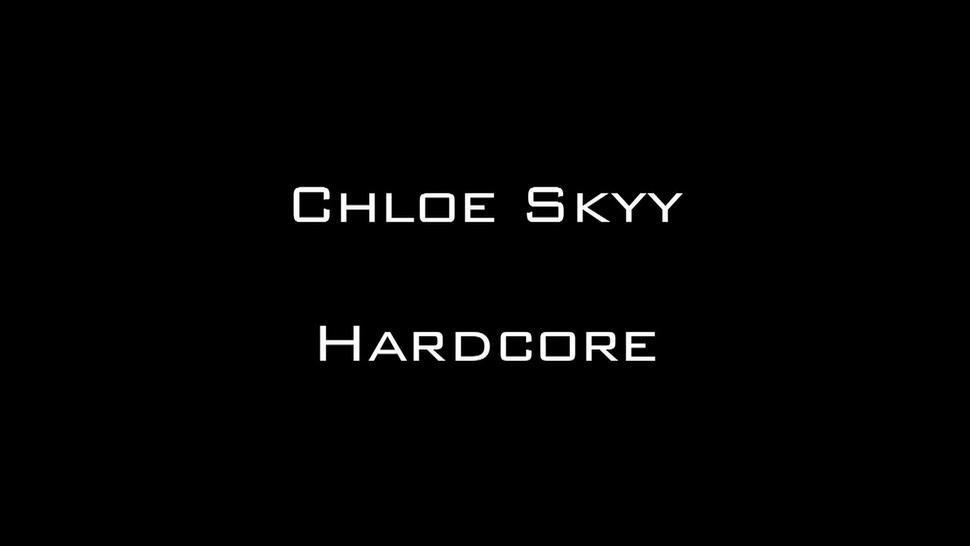Cum On Chloe's Feet After Nice Sex - Chloe S