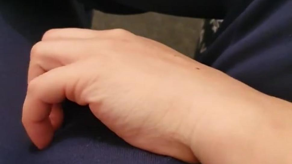 Step mom aggressive with step son cock making him cum in 20 seconds
