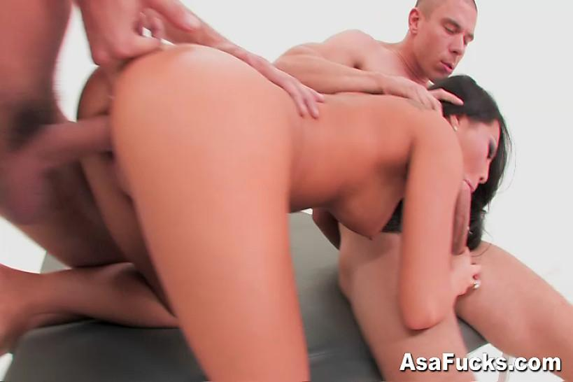 ASA AKIRA OFFICIAL SITE - Asa's Double Anal and Double Penetration