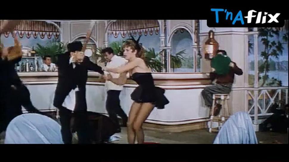 Brigitte Bardot Underwear Scene  in Naughty Girl
