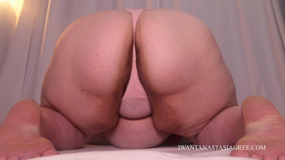 Sniff my panties and not shaved holes