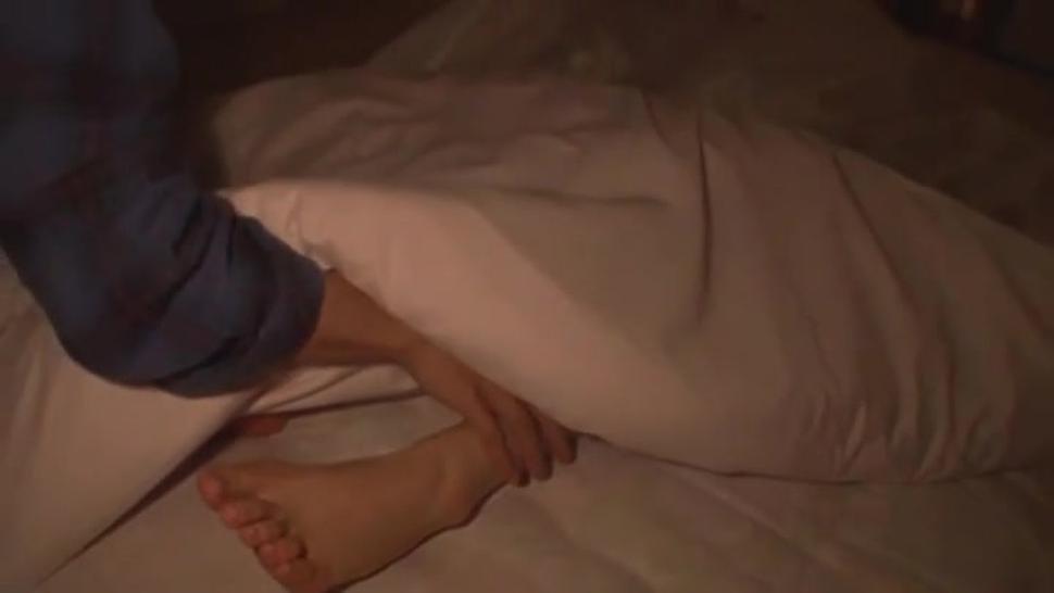 Sleeping Japanese girl getting fucked