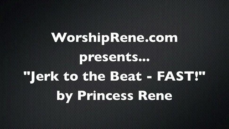 Rene Jerk To The Beat Fast