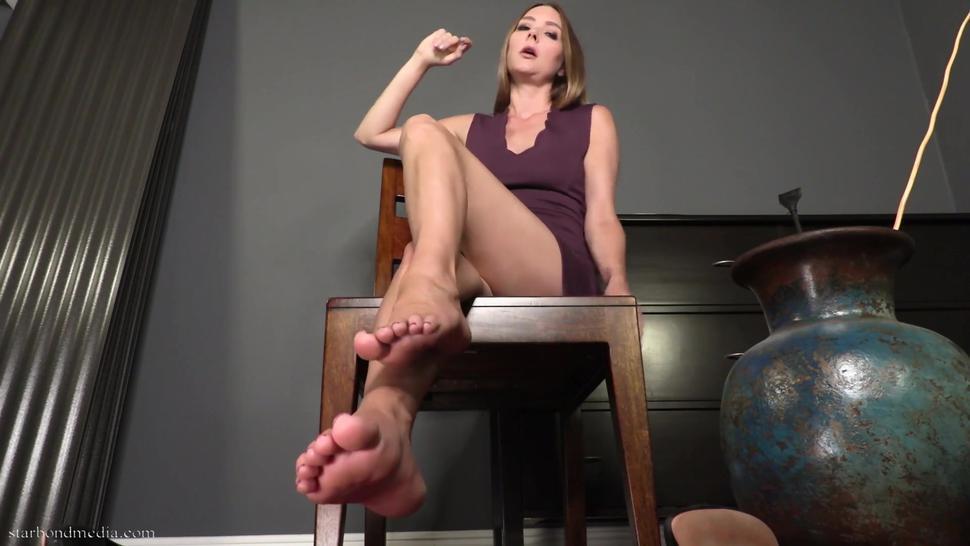 Foot Degradation JOI - Star Nine POV Foot Worship And Humiliation TRAILER