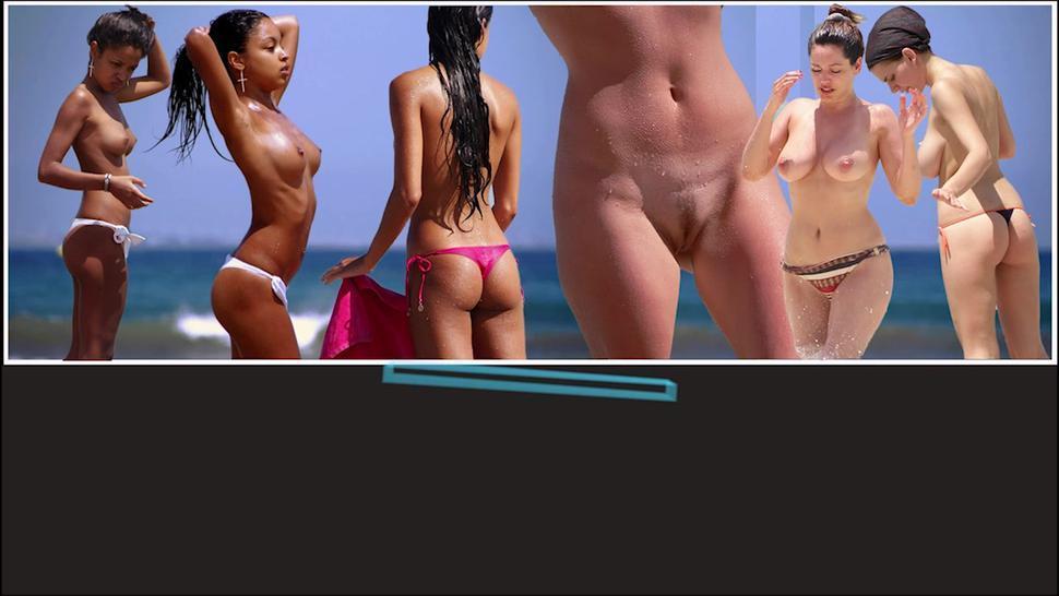 Big Ass Bikini Close Up Beach Voyeur Hd Video