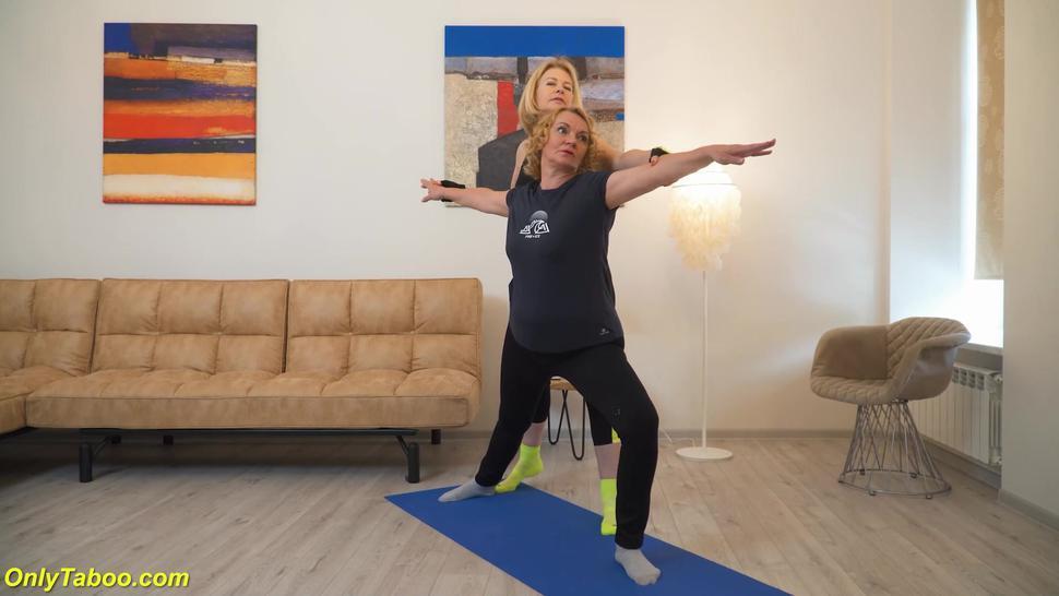 ONLYTABOO - extreme wild lesbian granny yoga