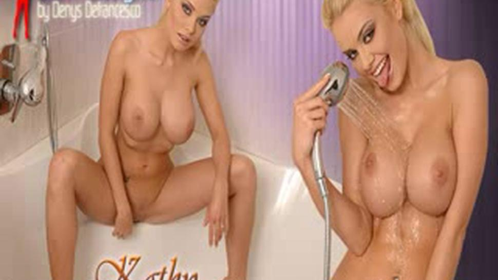 Caylian Curtis - Shower Masturbation W.anal Play
