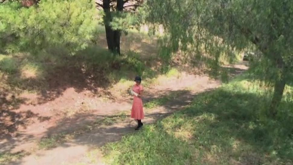 Two Girls And One Man Having Orgy In The Middle Of Nowhere - Madelyn Marie