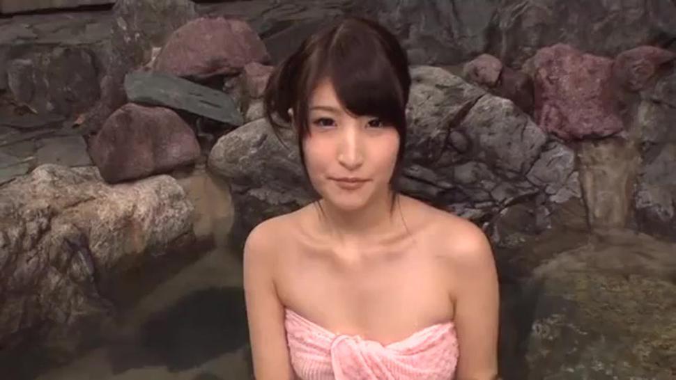 Japan outdoor hot spring bath onsen uncensored