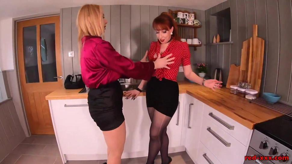 Lucy cant keep her hands off of Red XXX