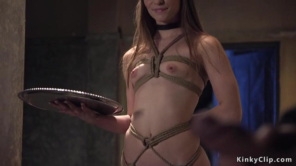 Petite Slut Earns Hard Fuck Slave Training