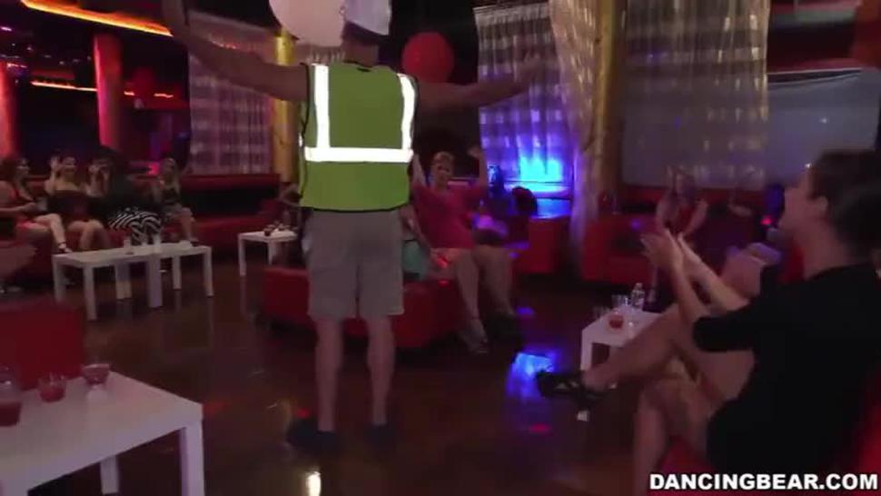 Dancing Bear Bachelors Party Best Blowjob