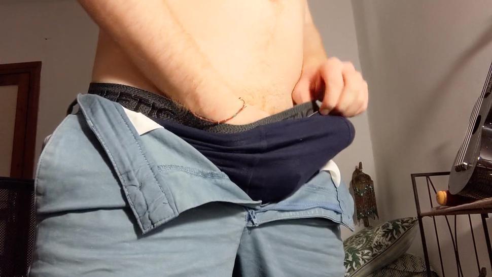 Thick Uncut Ginger Dick Cumming Hard