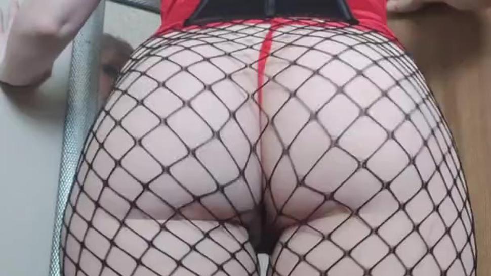 Kayci Kitten as Harley Quinn: Booty Shaking, Teasing & Topless