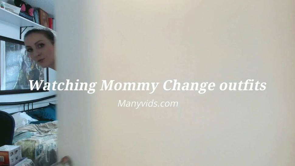 Watching Mommy Change Cloths (pov)