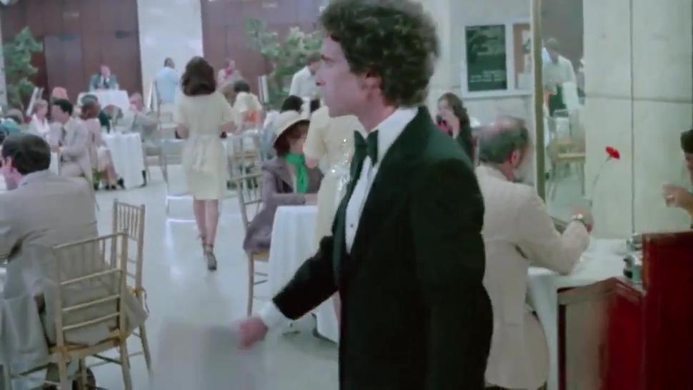 Vintage pornstars show hot copulation in retro movie