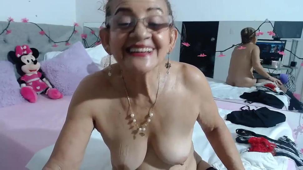 Anybody know this granny latinas cam name?