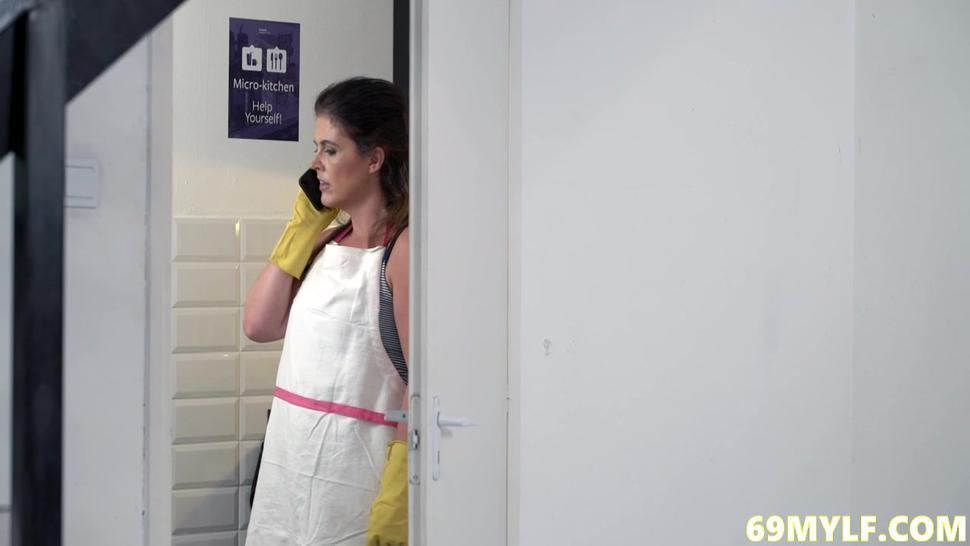 Montse Swinger In Housekeeping Horny MILF.mp4