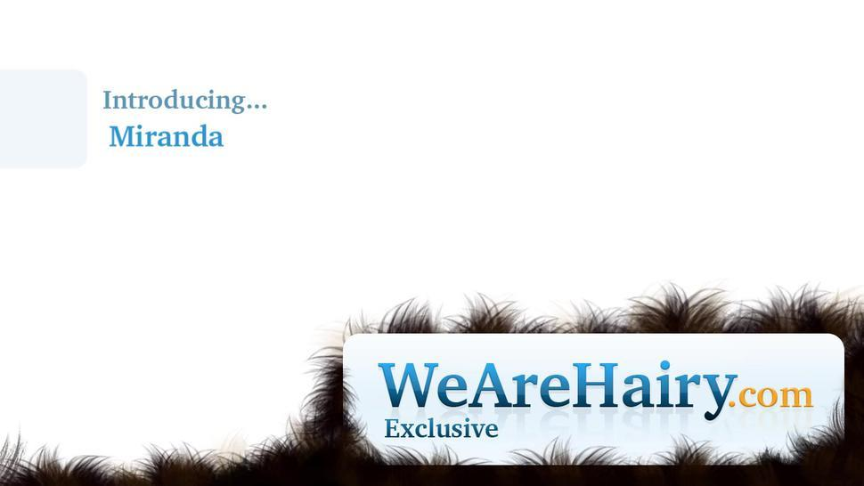 We Are Hairy - Miranda exercises and then masturbates after that