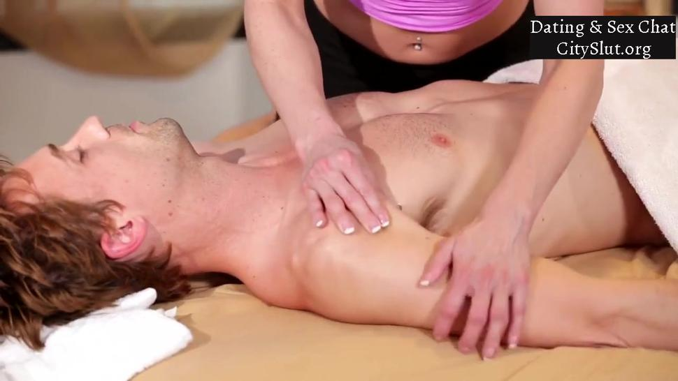 Busty Mom Kendra Lust Gives Massage To Stepson & Screw