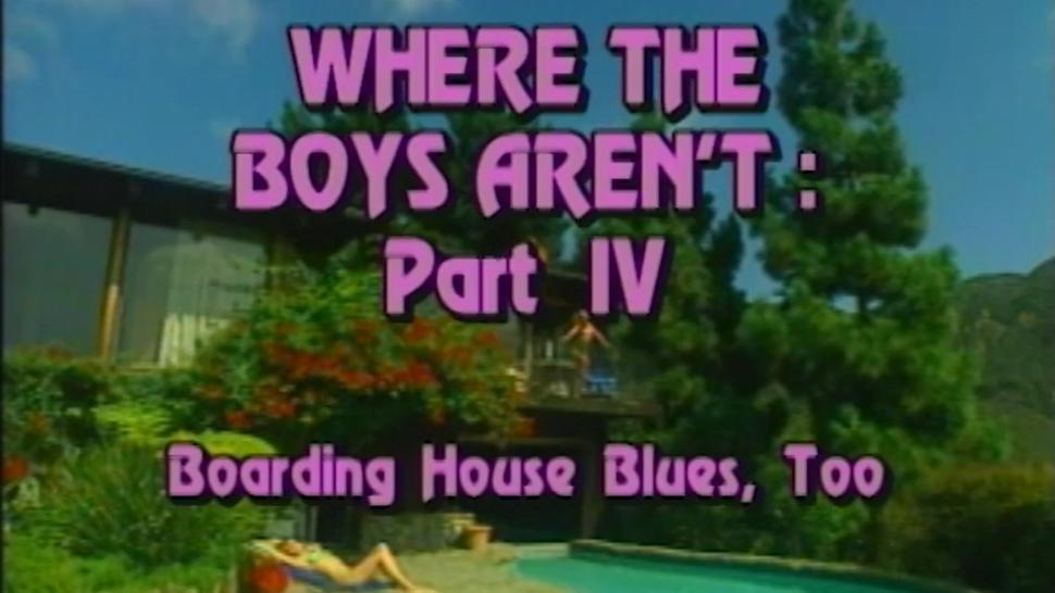 a scene from ''Where the Boys Arent #4'' with Francesca Le & Savannah