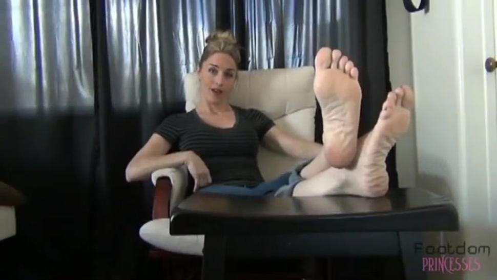 Sexy girl feet and soles Joi