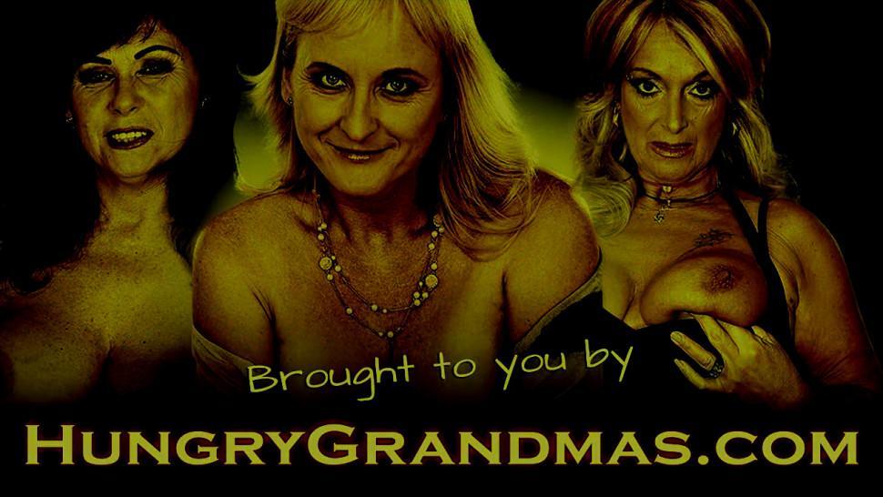 Granny with gigantic boobs fucked hard