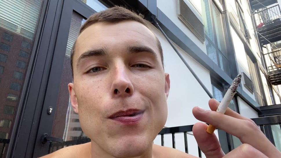Big Cock Muscle Stud Multicum Masturbation Bi Hunk Smokes, Flexes, Teases, Jerks Off 4 Cumshots Pov